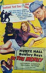 Bowery Boys - In The Money Movie Poster