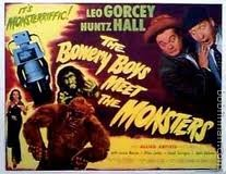 The Bowery Boys Meet The Monsters Lobby Card