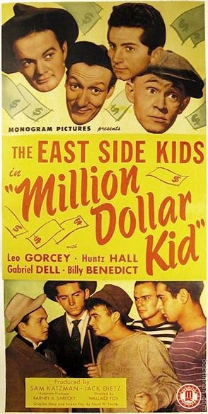 East Side Kids - Million Dollar Kid Movie Poster