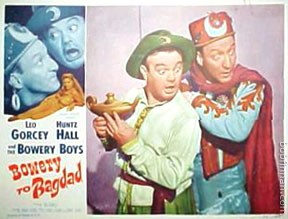 Bowery Boys - Bowery To Bagdad Movie Poster