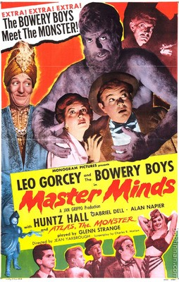 Bowery Boys - Master Minds Movie Poster