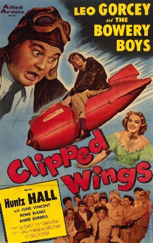 Bowery Boys - Clipped Wings Movie Poster